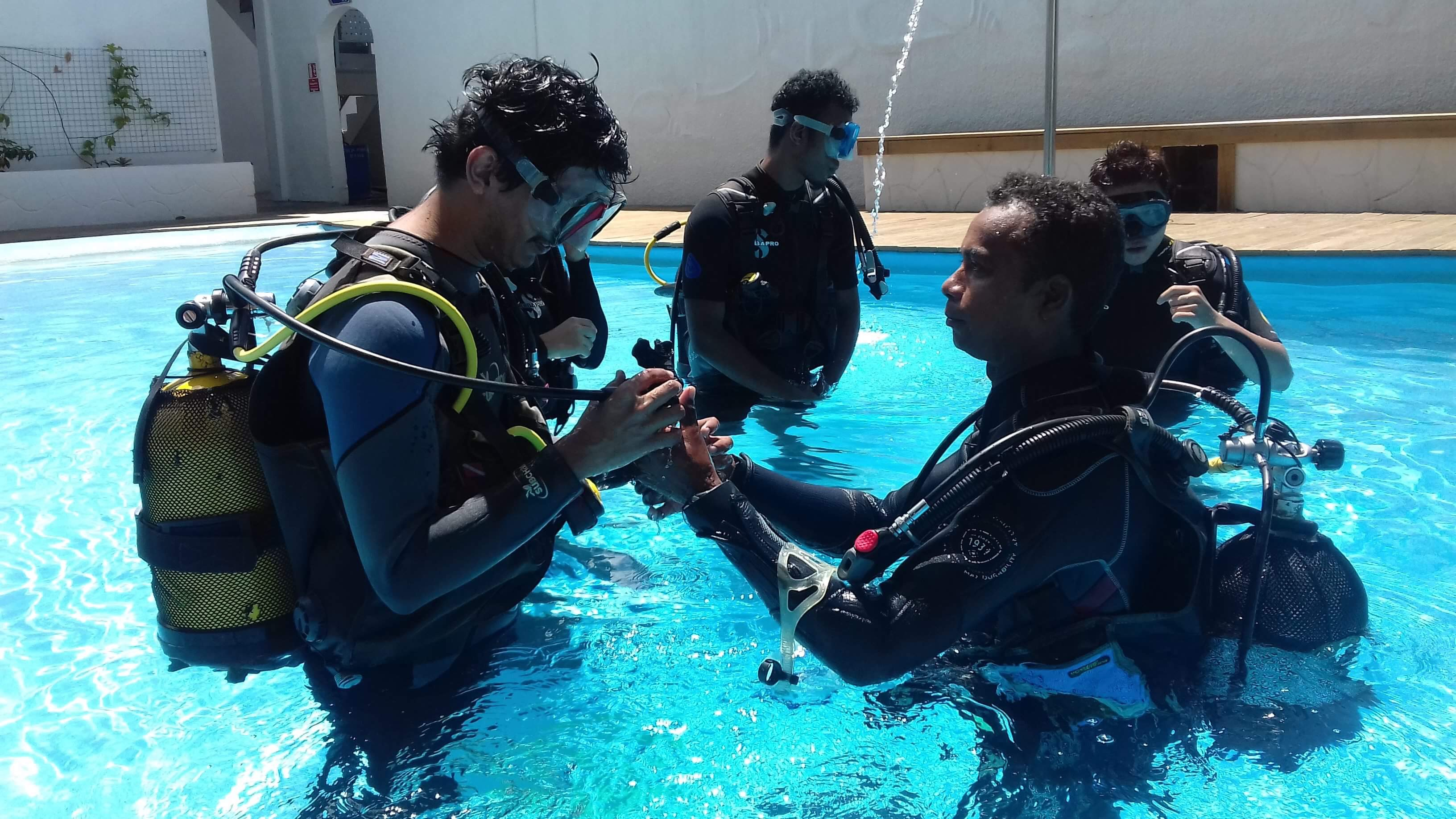 Dive Spirit Mauritius Scuba Training for beginners